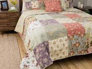 5-PIECE COTTON QUILT SET