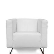 LOSBU - FANNY WHITE ACCENT CHAIR