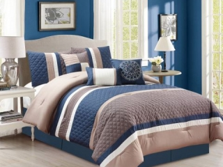 7-PIECES CAMERON COMFORTER SET DOUBLE