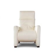 LOSBU - JAKY MANUAL RECLINER CHAIR - WHITE