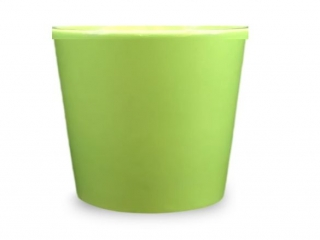 LIGHT GREEN CERAMIC POT