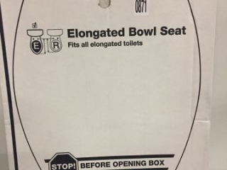 KOHLER ELONGATED BOWL SEAT
