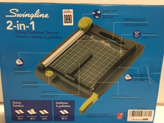 SWINGLINE 2-IN-1 ROTARY/GUILLOTINE TRIMMER