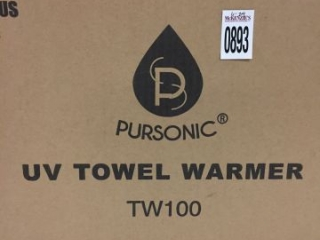 PURSONIC UV TOWEL WARMER