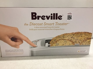 BREVILLE THE DIECAST SMART TOASTER