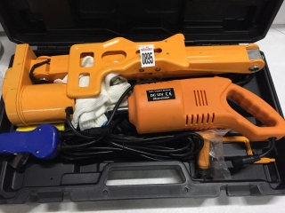 ELECTRIC CAR JACK & ELECTRIC WRENCH TOOL KIT