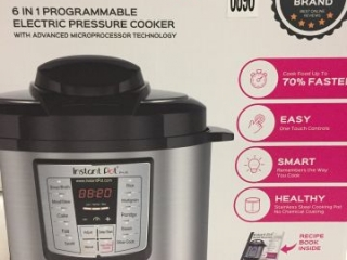 INSTANT POT 6-IN-1 PRESSURE COOKER, 6 QUART