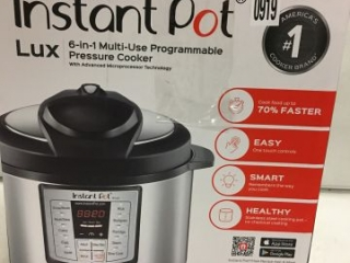 INSTANT POT LUX 6 IN 1 PROGRAMMABLE PRESSURE