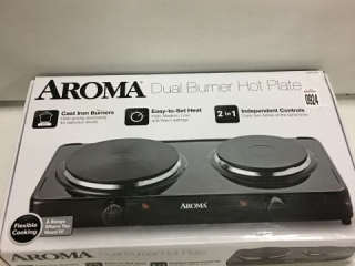 AROMA DUAL BURNER HOT PLATE