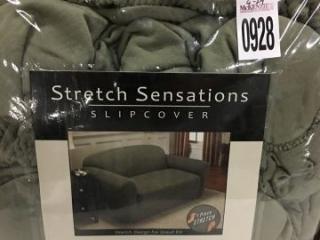 STRETCH SENSATION LOVESEAT SLIPCOVER