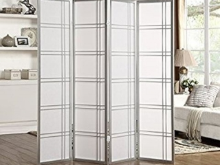 4-PANEL ROOM DIVIDER SCREEN