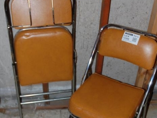 OFF SITE -  2 Fold Up Chairs UNRESERVED