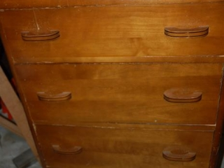OFF SITE -  Chest of Drawers - 4 Drawers UNRESERVED