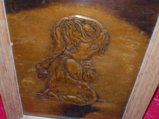 OFF SITE -  Mirror (Approx. 4'H), Copper Girl Picture UNRESERVED