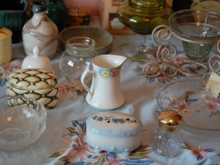 OFF SITE -  Glassware, Doll, Bowls, Etc. (ALL Contents Included) UNRESERVED