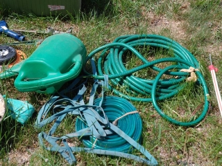 OFF SITE -  Hose, Sprinkler, Cooler, Etc. (Shower Sprinkler NOT Included) UNRESERVED