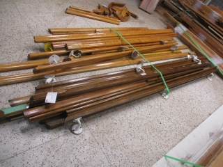 (11) Pieces of Hand Railing - Approx. 11' Long Each  UNRESERVED