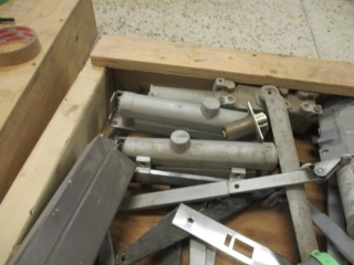 Box of Parts for Push Opener For Door  UNRESERVED