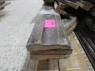 Large Pile of Assorted Oak and Other Wooden Door Trim, Window Trim, Base Boards and Chair Board  UNRESERVED