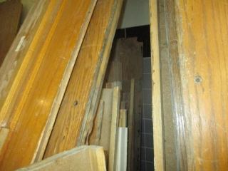 Pile of Newer Oak Door Frames - All Various Sizes From The College Building UNRESERVED