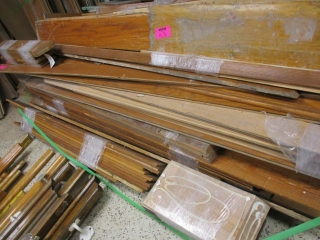 Pile of Door Frames , Base Board, Window Trims UNRESERVED