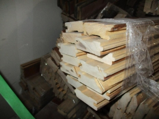 Pile of Various Lengths of Stair Treads  UNRESERVED