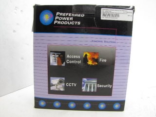 PREFERRED POWER PRODUCTS P3DC12-4-1 SECURITY POWER SUPPLY