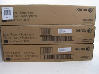 Lot of 3 Xerox 006R01247 Black toner