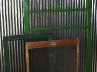 Vintage Screen Windows and Screen Door