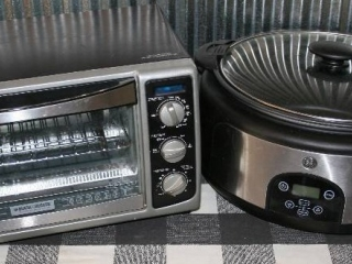 Toaster Oven and Slow Cooker