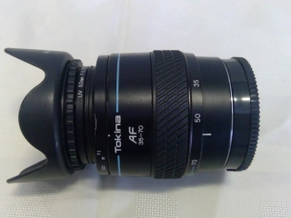 Tokina 35-70 Lens For Sony Alpha