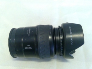 Minolta 80-200 Power Lens For Sony Alpha