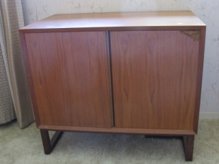 Mid Century Teak Norway 2 Door Server
