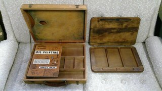 2 Wood Painters Case
