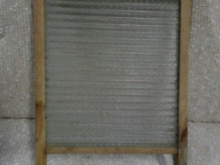Antique Economy Glass Washboard