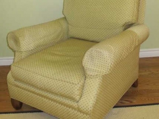 Wesley Hall Tag Upholstered  Armchair