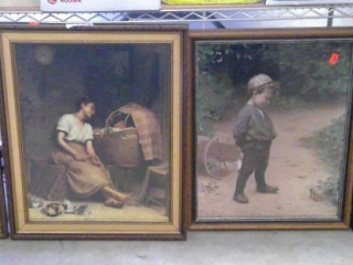 "(4) Paul Peel Framed Prints 23"" X 18"""