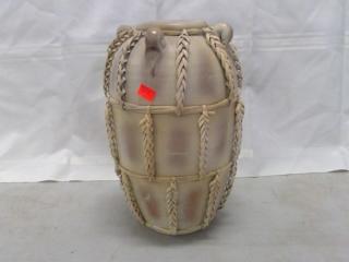 """Cream 14"""" Vase"""