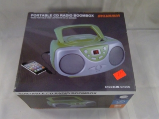 Portable Cd Radio Boombox