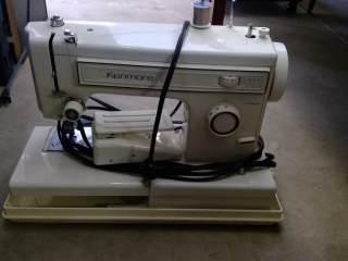 Kenmore Sewing Machine In Case