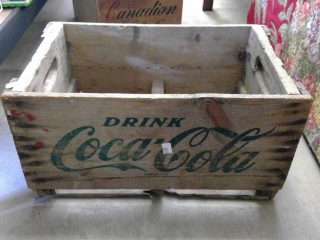 Coca Cola Wood Box