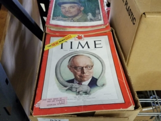 Box Of Time Magazines