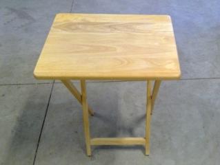 Wood Folding Dinner Tray
