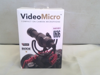 Rode Microphone For Camera/video