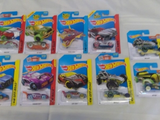10 Hot Wheels Treasure Hunt Cars