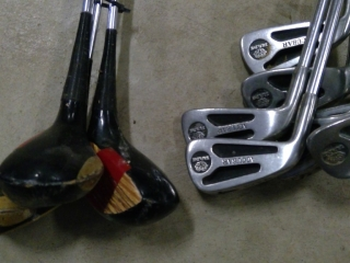 Grouping Of Accubar Golf Clubs