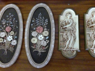 4 Plaster Wall Hanging