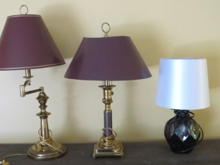 Group Of 3 Table Lamps