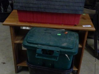 Grouping To Include Mail Box, 2 Garbage Cans,