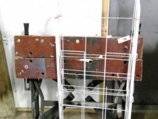 Folding Work Bench & Rolling Cart
